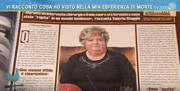 Valeria Biaggio intervistata da TV2000 - Gennaio 2017