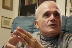 Franco durante l'intervista rilasciata a Il Tirreno nel 2011